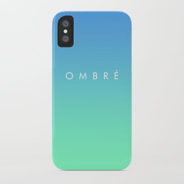 OMBRE #1 iPhone Case
