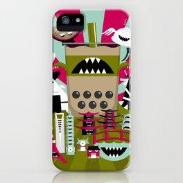 All Hail Bobasaurus Rex iPhone Case