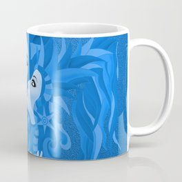 Share Secrets in Blue Coffee Mug