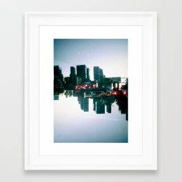 Landscapes (Los Angeles #2) Framed Art Print
