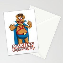Fozzie Bear the Martian Manhunter Stationery Cards