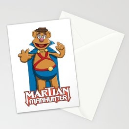 Fozzie Bear the Martian Manhunter Stationery Cards
