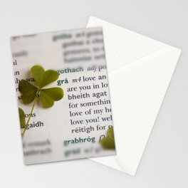 Love in Irish Stationery Cards