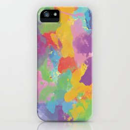 Watercolor Splatter iPhone Case