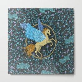 Mythical Beast 5 Color Metal Print