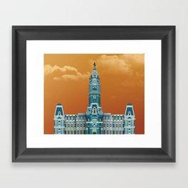 City Hall - Philadelphia Framed Art Print