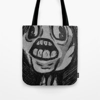 cabin pressure Tote Bags featuring Pressure by JLRS