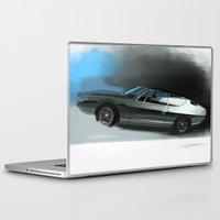lamborghini Laptop & iPad Skins featuring Lamborghini Espada by Vadim Artemyev