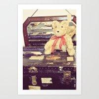 Vintage Bear Art Print