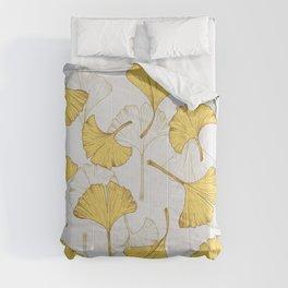 Ginkgo Pattern Comforters