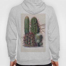 Vintage Cactus Print Hoody