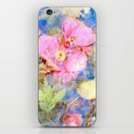 Fallen Camelias iPhone Skin