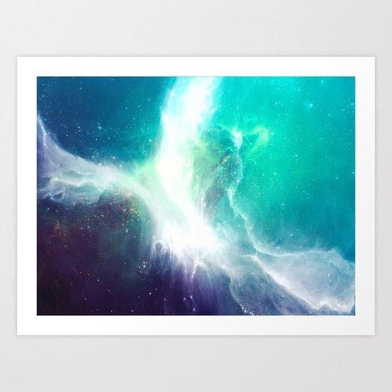 Wave to Heaven Art Print