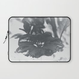 Bloom in Platinum Tone Laptop Sleeve