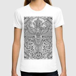 Rise Like A Mythical Phoenix by Kent Chua T-shirt