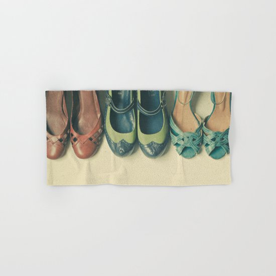 The Shoe Collection Hand & Bath Towel