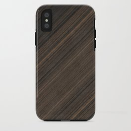 Ebony Macassar Wood iPhone Case