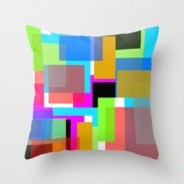 Abstract Design No. 790 Throw Pillow