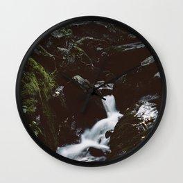 Dark Hollow Falls Wall Clock