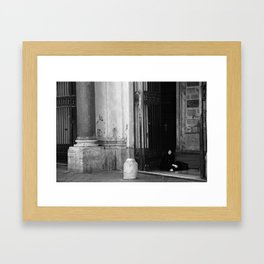 Gypsy, Rome, 2011 Framed Art Print