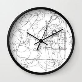 Mind Doodles Wall Clock