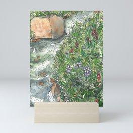 Little Wildflower Creek Mini Art Print