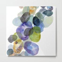 Pebbles Enhanced Metal Print