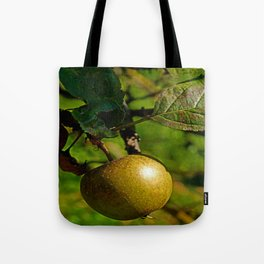 hanging apple Tote Bag