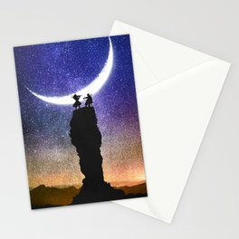 A Sonata at Nightfall Stationery Cards