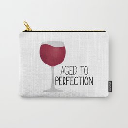 Aged To Perfection - Wine Carry-All Pouch
