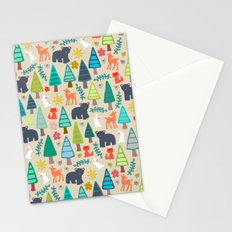 summer woodland Stationery Cards