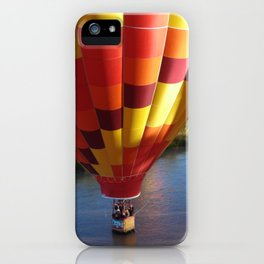 Flame Glow Float iPhone Case