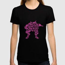Dva type illustration T-shirt