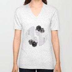 selene and eos (black and white) Unisex V-Neck