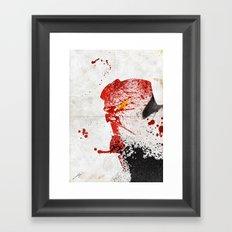 Evil-Boy Framed Art Print
