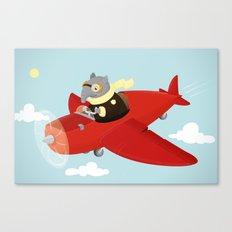 Flying Tapir Canvas Print