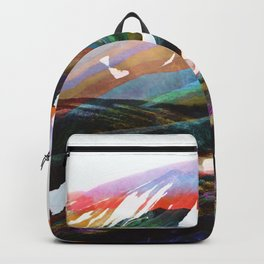 Abstract Mountains II Backpack