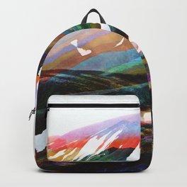Abstract Mountains II Backpack