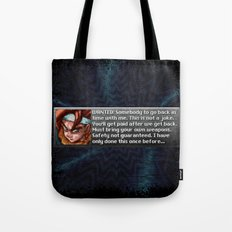 Safety Not Guaranteed New Game + Tote Bag