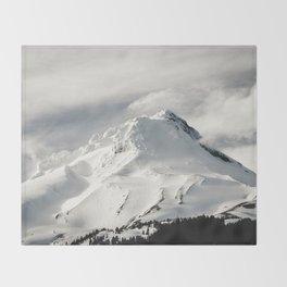 Marvelous Mount Hood Throw Blanket