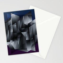 Geometric Construct Edit Stationery Cards