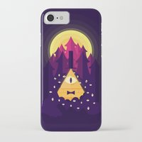 bill cipher iPhone & iPod Cases featuring BILL by badOdds