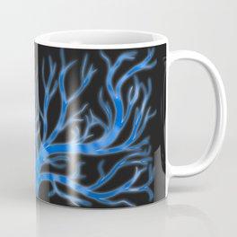 Ghostly Vines (Deep Blue Spirit) Coffee Mug