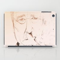 lynch iPad Cases featuring Smoker Lynch by Marina Capdevila