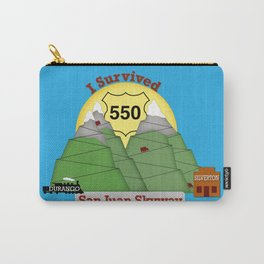 I Survived HWY 550 Durango to Silverton Carry-All Pouch