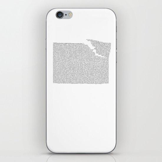 Erosion & Typography 2 iPhone & iPod Skin