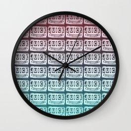 JUICEEPRESSIONS LOGO 2 Wall Clock