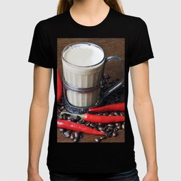 MILK COFFEE and RED CHILLI T-shirt