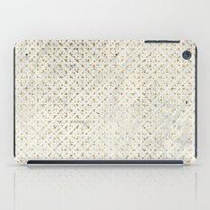 gOld grid iPad Case