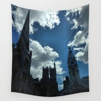 philadelphia Wall Tapestries featuring Philadelphia by Julie Maxwell